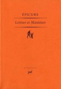 Lettres et Maximes