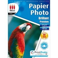 Papier imprimante Micro Application Papier Photo Premium - Brillant