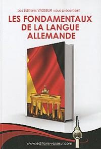 Les fondamentaux de la langue allemande