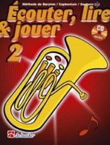 Ecouter, Lire & Jouer Pour Baryton/Euphonium/Saxhorn Vol.2 + Cd