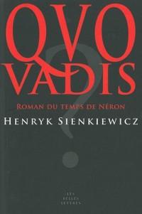 Quo Vadis: Roman du temps de Néron