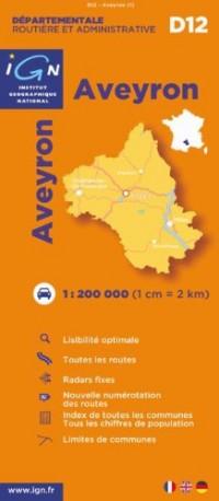 D12 Aveyron 1/200.000