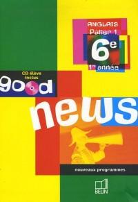 Anglais 6e (1CD audio)
