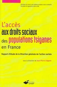 L'accès aux droits sociaux des populations tsiganes en France : Rapport d'étude de la Direction générale de l'action sociale
