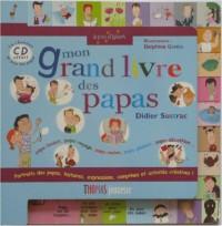 Mon grand livre des papas (1CD audio)