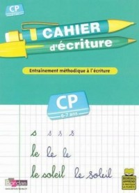 Cahier d'écriture CP