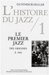 L'histoire du jazz tome 1