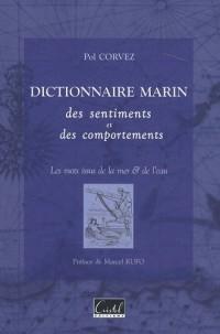 Dictionnaire marin des sentiments et des comportements