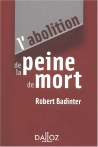 L'abolition de la peine de mort