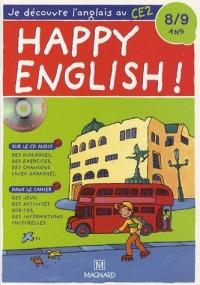 Happy English ! : Je découvre l'anglais au CE2 (1CD audio)