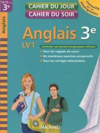 Anglais 3e LV1