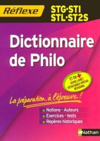 Dictionnaire de Philo STG-STI-STL-ST2S