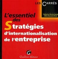 L'essentiel des Stratégies d'internationalisation de l'entreprise
