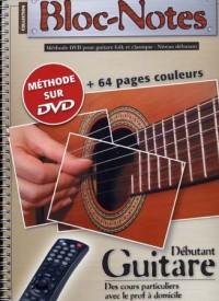 Bloc Notes Guitare Acoustique Methode Tab DVD