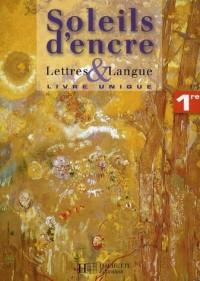 Lettres et langue 1e : Livre unique