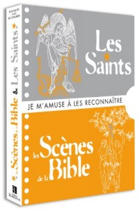 Coffret 2 Vol les Saints et les Scènes de la Bible Je M'Amuse a les Reconnaître