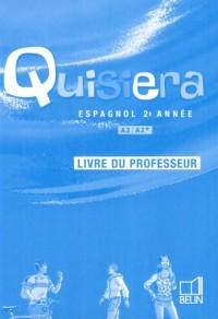 Quisiera, espagnol 2ème année : Livre du professeur