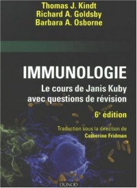 Immunologie : Le cours de Janis Kuby