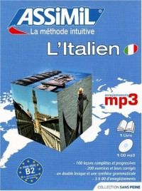 L'Italien ; Livre + CD MP3