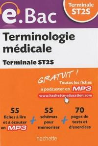Terminologie médicale Tle ST2S