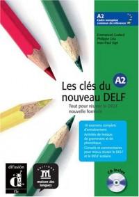 Les cles du nouveau delf a2 - libro del alumno + CD