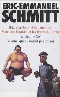 Eric-Emmanuel Schmitt Coffret 5 volumes