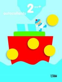 Je grandis avec les autocollants : 2 ans et plus Le bateau