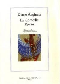 La Comédie : Paradis, édition bilingue français-italien