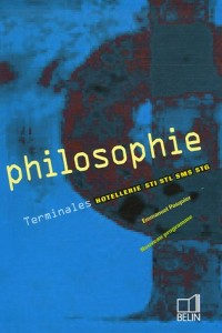 Philosophie Tle Hôtellerie-STI-STL-SMS-STG