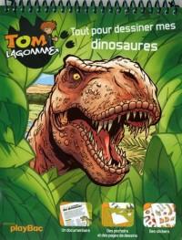 Tom Lagomme : Tout pour dessiner mes dinosaures