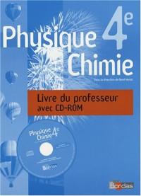 Physique-Chimie 4e : Livre du professeur (1Cédérom)