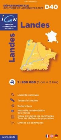 D40 Landes 1/200.000