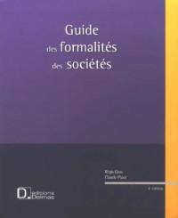 Guide des formalités des sociétés
