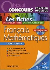 Français Mathématiques : Les fiches Catégorie C (1Cédérom)