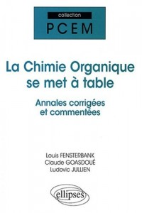 La chimie organique se met à table