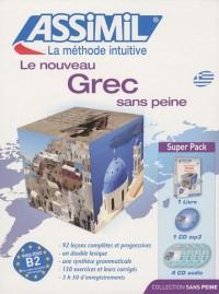 Le nouveau grec sans peine : Avec CD mp3 (4CD audio)