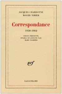 Correspondance: (1950-1962)