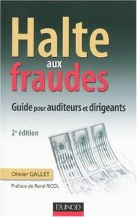 Halte aux fraudes : Guide pour auditeurs et dirigeants