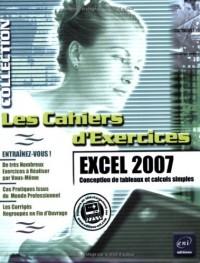 Excel 2007 - Conception de tableaux et calculs simples