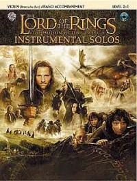 Lord of the Rings, The (violin/CD) --- Violon/Piano - Shore, Howard --- Alfred Publishing