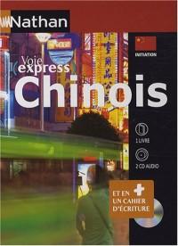 Chinois initiation : 1 livre, 2CD audio et 1 livret d'écriture
