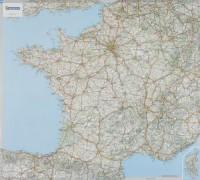 France Carte plastifiée : 1/1 000 000
