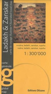 Carte Ladakh-Zanskar