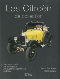 Les Citroën de collection
