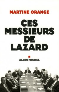 Ces messieurs de Lazard