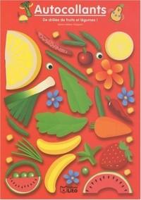 De drôles de fruits et legumes : rouge