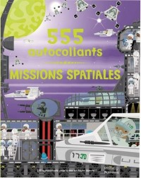 Missions spatiales : 555 autocollants