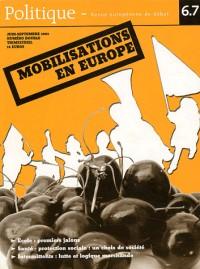 Mobilisations en Europe