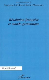Révolution française et monde germanique