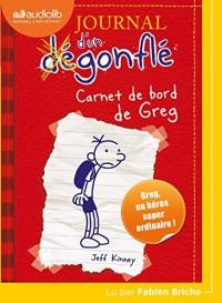 Journal d'un dégonflé 1 - Carnet de bord de Greg Heffley: Livre audio 1 CD MP3